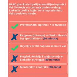 Linkedin profil - BASIC