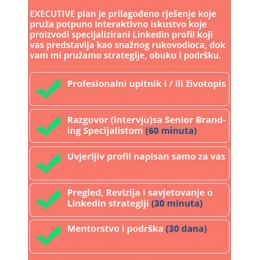 Linkedin profil - EXECUTIVE